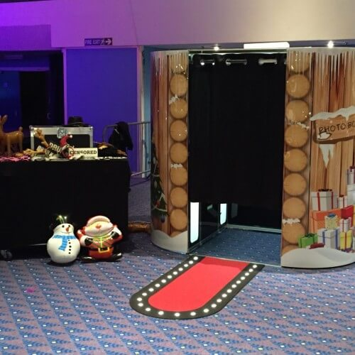 christmas photobooth party hire