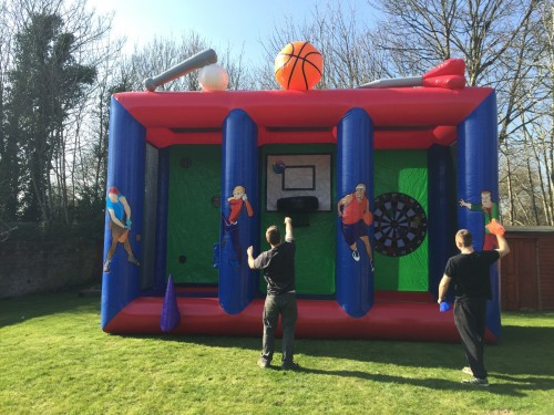 3 in 1 Sports Inflatable Game