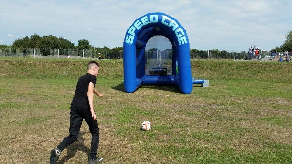 Football Speed Cage