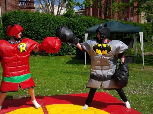 Superhero Game Party Event Hire