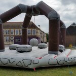 Demolition Inflatable Monster Event Hire England