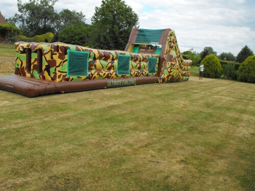 60ft Army Assault Course