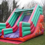 Circus Slide Bouncy Castles Monster Event Hire