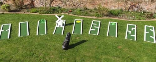 Crazy Golf Monster Event Hire England