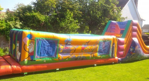 Funfair Assault Course Bouncy Castles for Hire England