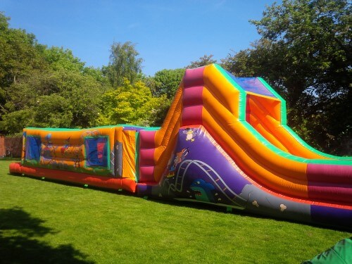 50ft Fun fair assault course