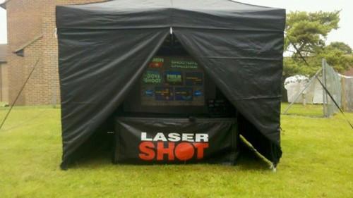 Laser Shot Event Monster Event Hire England
