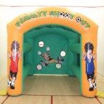 Penalty shootout Bouncy Castles Monster Event Hire