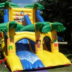 Pirate Slide Bouncy Castles Monster Event Hire