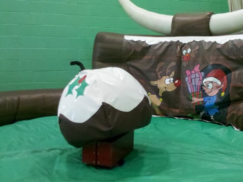 Rodeo Pudding Inflatable Rides and Slides Monster
