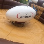 Rodeo Rugby ball inflatable event hire