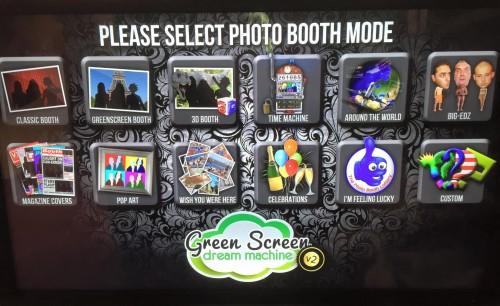 Green Screen Dream Machine