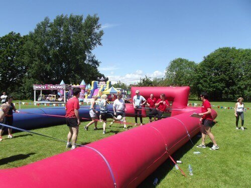 Football Inflatable Event Hire