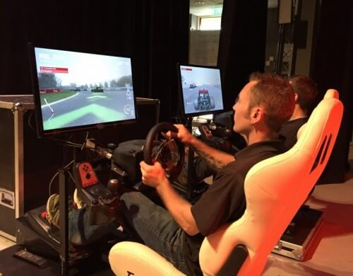 F1 Racing Simulator Event Hire