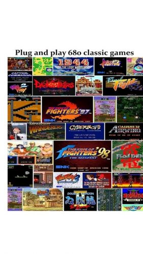80's Retro arcade games
