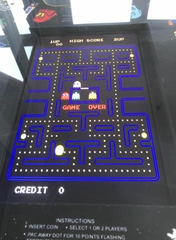 Cocktail Table Retro games machine